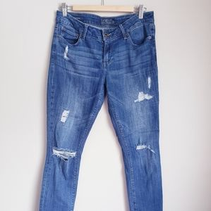 LUCKY BRAND | Lolita Skinny Ripped Jeans size 8